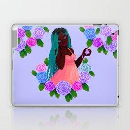 Turquoise Twists Laptop & iPad Skin