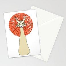 Felidae light Stationery Cards