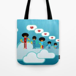 Jacksons Pixel Art Tote Bag