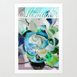 Montage Art Print