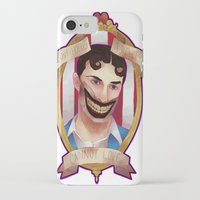 ahs iPhone & iPod Cases featuring AHS: Freakshow Dandy Mott by venuscas