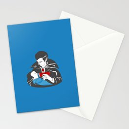 The Curious Case of a Baby Vampire Stationery Cards
