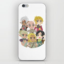Dragon Age Elves iPhone Skin
