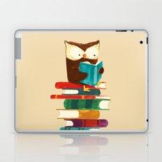 Owl Reading Rainbow Laptop & iPad Skin