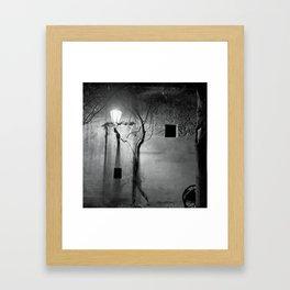 The Light Holder Framed Art Print