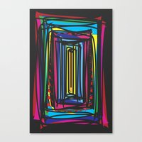 frames Canvas Prints featuring Frames by Niko Psitos