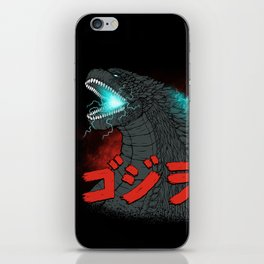 Mighty Kaiju Gojira iPhone Skin