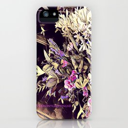 Pink and Purple for Valentines Day iPhone Case