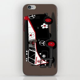 peace team iPhone Skin