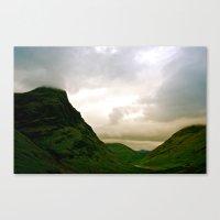 scotland Canvas Prints featuring Scotland by Jennifer McMartin
