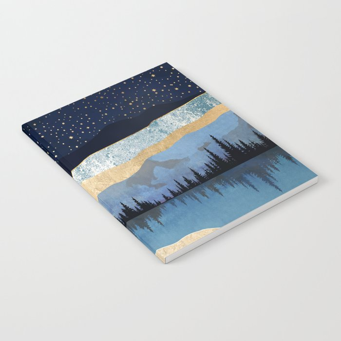 Midnight Lake Notebook