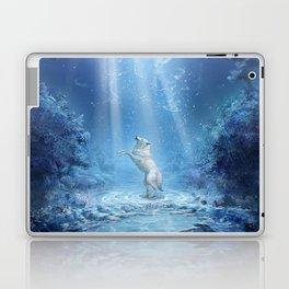 A wolf's tale Laptop & iPad Skin