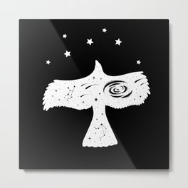 Eagle Falke Spatal T-Shirt Gift Metal Print