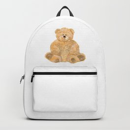 Yellow bear toy Backpack