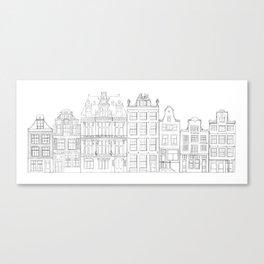 Amsterdam IV Canvas Print