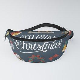 Merry Christmas Artwork Fanny Pack