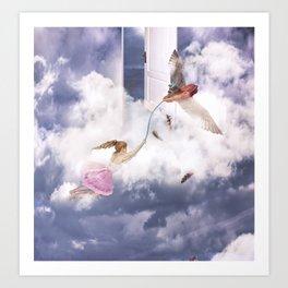 Aprender a volar Art Print