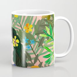 Boho Lady Coffee Mug