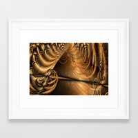 theatre Framed Art Prints featuring Theatre by Maria Forrester