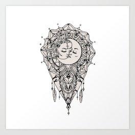 Sun Love Art Print