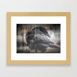 Cold Shoulder Framed Art Print
