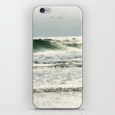 the sea in my memory iPhone & iPod Skin