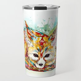 """You're So Foxy"" - Fennec Fox Travel Mug"