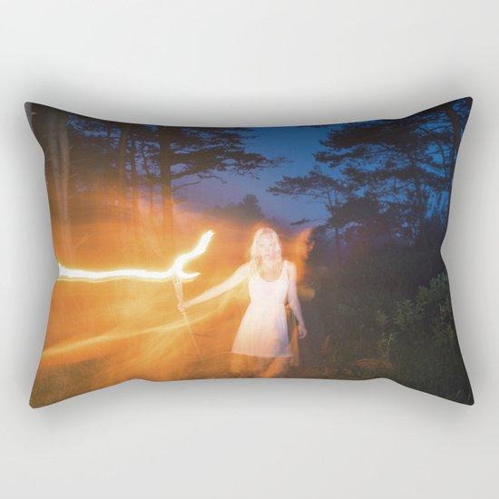 Hide & Seek Rectangular Pillow