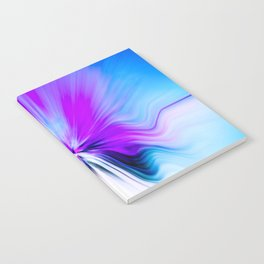 Abstract Moving Butterfly Design Notebook