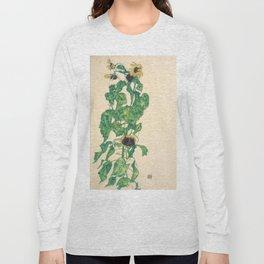 "Egon Schiele ""Sonnenblumen"" Long Sleeve T-shirt"