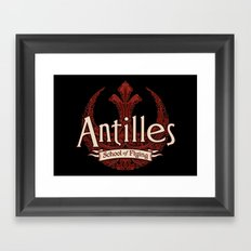 Antilles School of Flying Framed Art Print