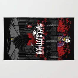 Attack on Gotham Rug