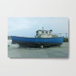 Dry Dock Metal Print