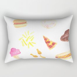 Celebrate National Junk Food Day Everyday Rectangular Pillow