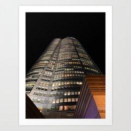 Roppongi Hills Mori Tower Art Print