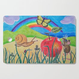Little Garden Friends Snack Time Cutting Board