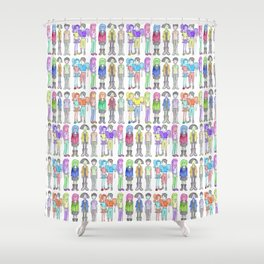 Daria and Friends Shower Curtain