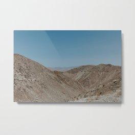 Jacumba Mountains Metal Print