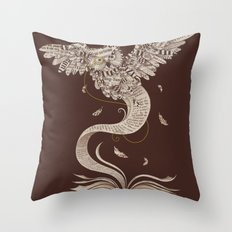 Flow of Wisdom Throw Pillow