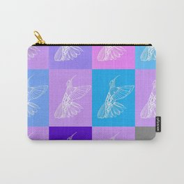 purple hummingbirds Carry-All Pouch