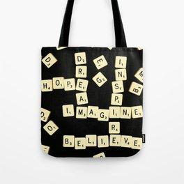 Scrabble Scanograph Tote Bag