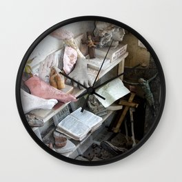 Saints come marching Wall Clock