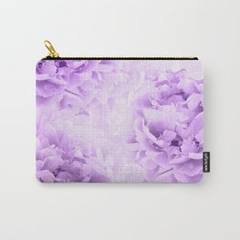 Purple Peonies Dream #2 #floral #decor #art #society6 Carry-All Pouch
