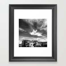 CafeTazo SF Street Photo Framed Art Print