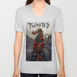 Twisted  Unisex V-Neck