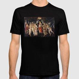 La Primavera - Allegory Of Spring - Sandro Botticelli T-shirt