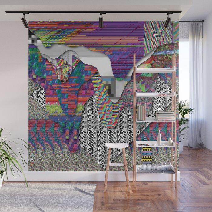 drippy internet Wall Mural