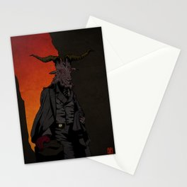 His Red Right Hand Stationery Cards