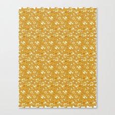 Rose pattern... Canvas Print