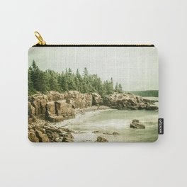 Acadia National Park Maine Rocky Beach Carry-All Pouch